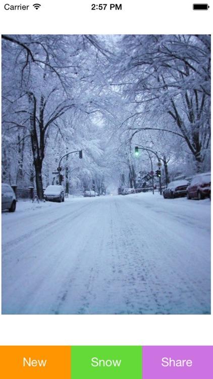 Snowing Pic