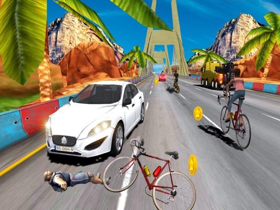 In Bicycle Racing on Highway screenshot 8