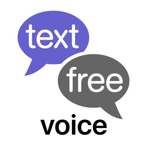Text Free Calling App application logo