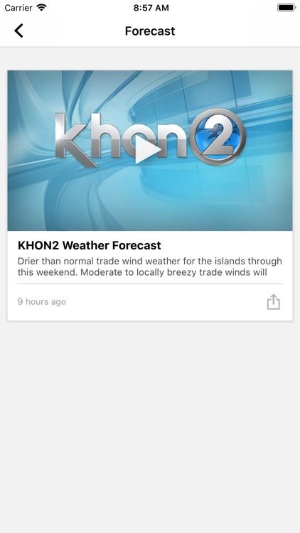 KHON2 WX - Radar & Forecasts