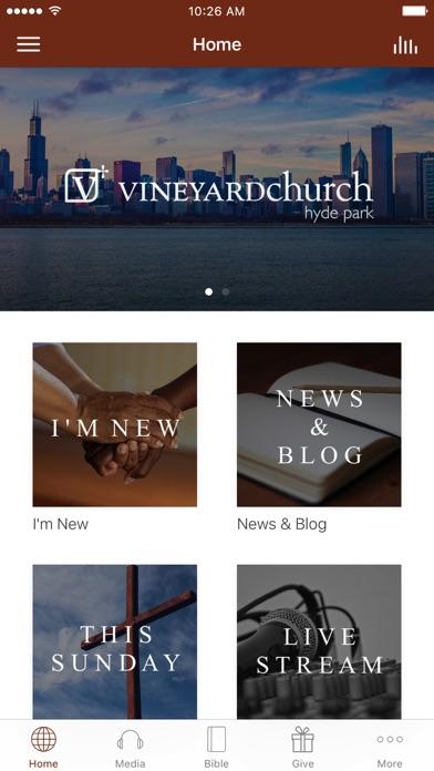Vineyard Church of Hyde Park screenshot 1