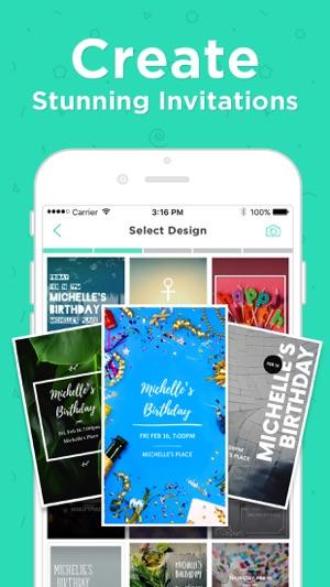 hobnob invitations text rsvp on the app store