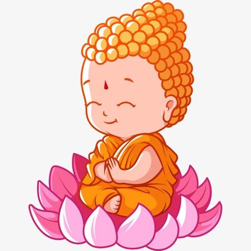 Buddha God Stickers