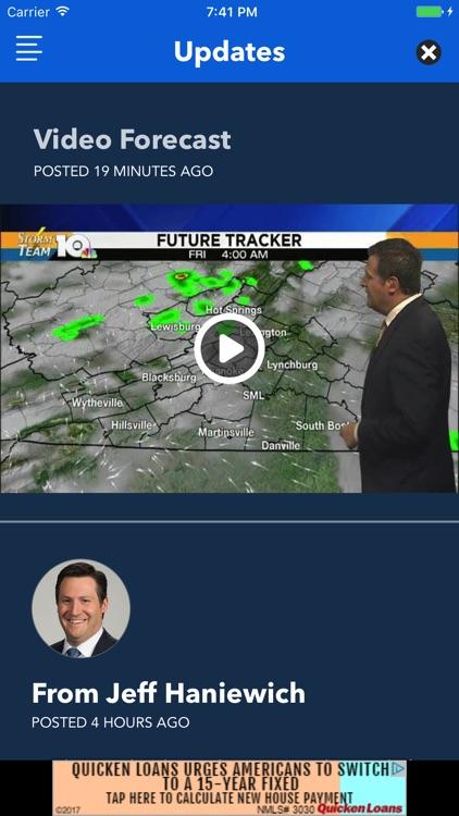WSLS 10 Weather - Roanoke Radar and Forecasts