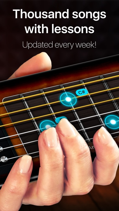 Guitar - real games & lessons Screenshot