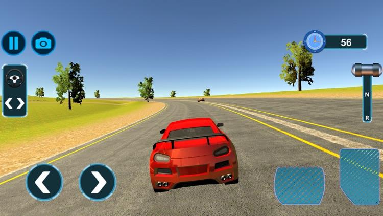 Modern Muscle Car Driving screenshot-4