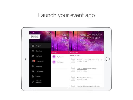 Monash University Events Portal screenshot 5