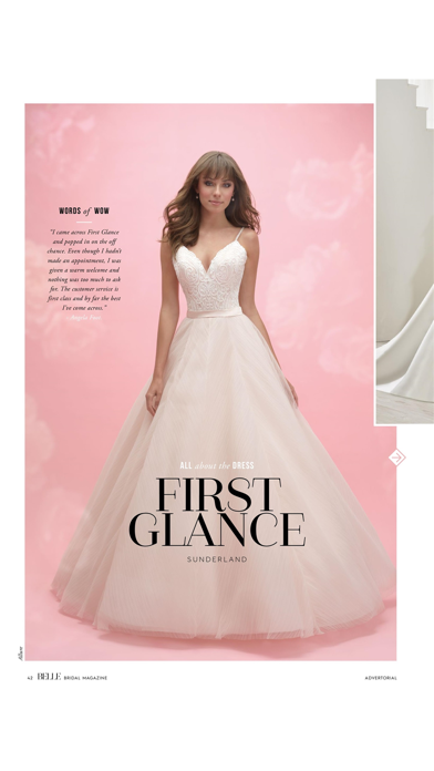 Belle Bridal magazine screenshot 4