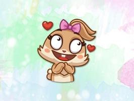 Honey Bunny! Stickers