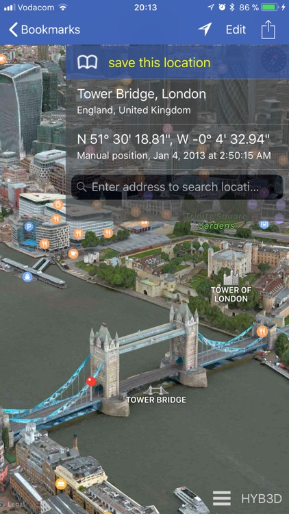GPS location 3D/flyover screenshot-2