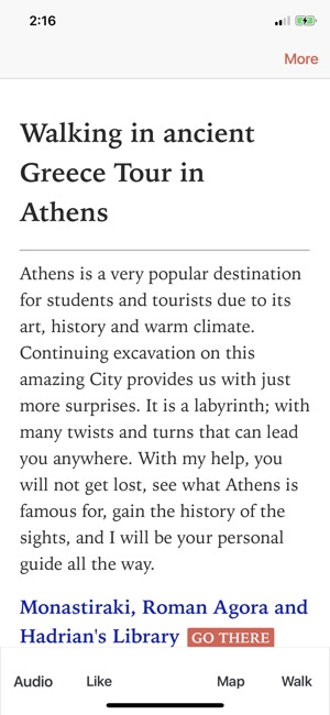 ‎Ancient Greece Walk in Athens