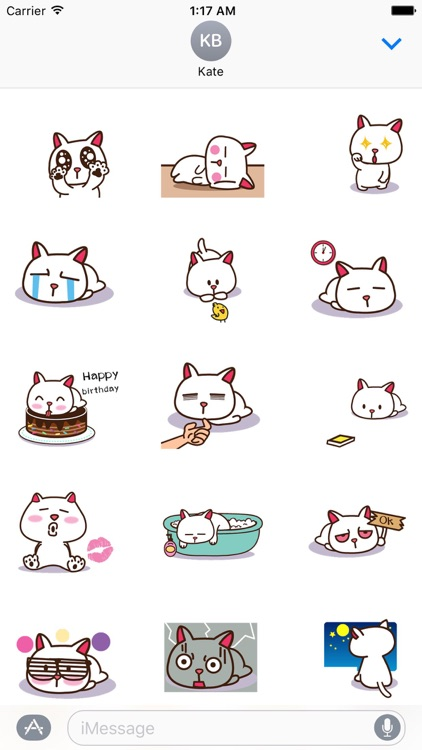Daily Life of Lazy Cat Sticker