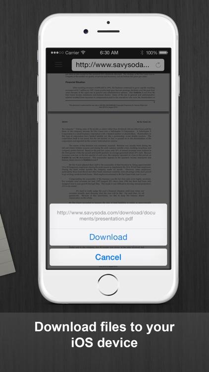 Documents Pro - Files Editor screenshot-4