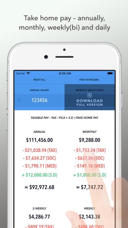 Whats my pay? USA 2019 LITE screenshot-0