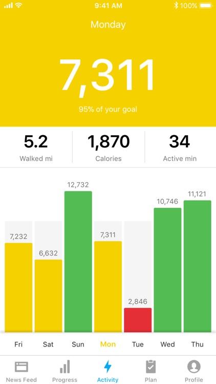 Runtastic Steps - Pedometer screenshot-5