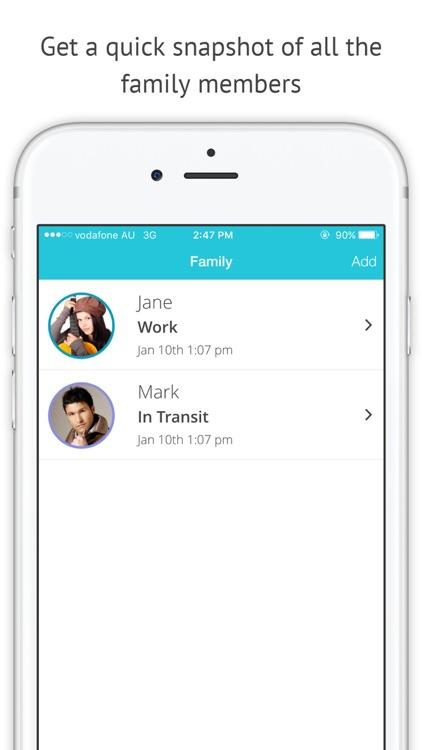 FollowMe: Family Locator - GPS Phone Tracker Plus screenshot-4