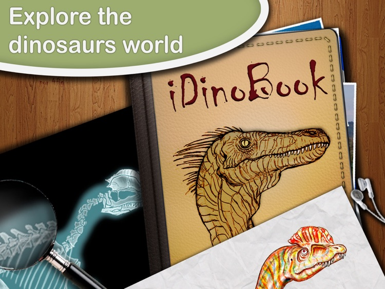Dinosaur Book HD Lite: iDinobook screenshot-0