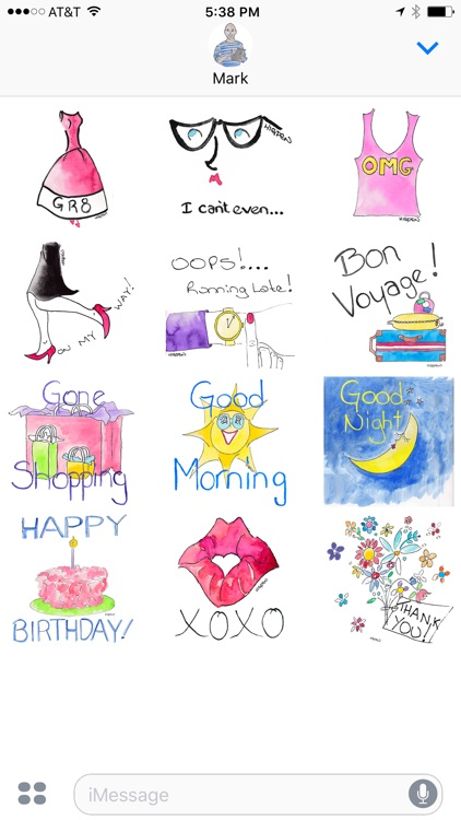 Fashionisto Girl Stickers
