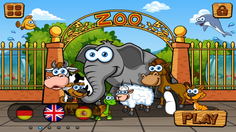 Preschool Zoo Puzzles Zoolingo screenshot-0