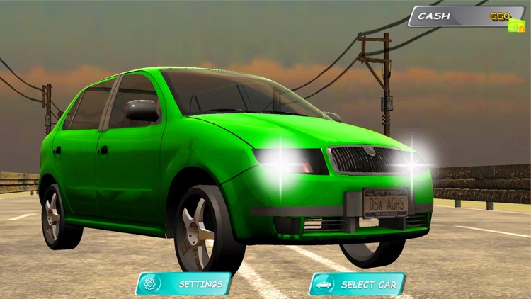 Highway Car Traffic Racer 3D screenshot-3