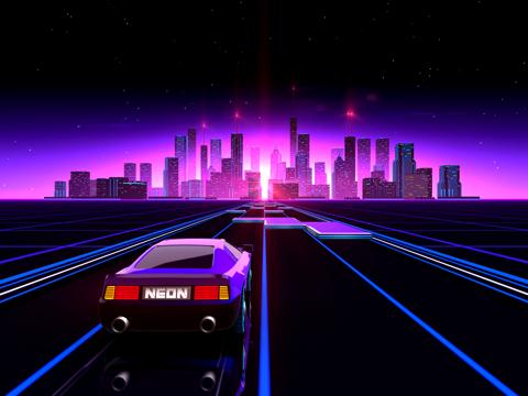 Neon Drive - '80s style arcadeのおすすめ画像1
