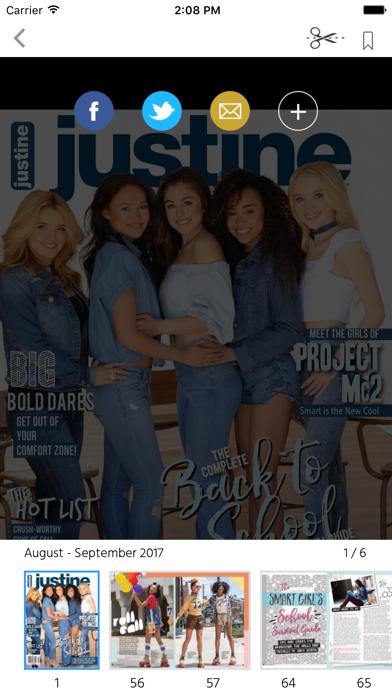 Justine (Magazine) screenshot 2