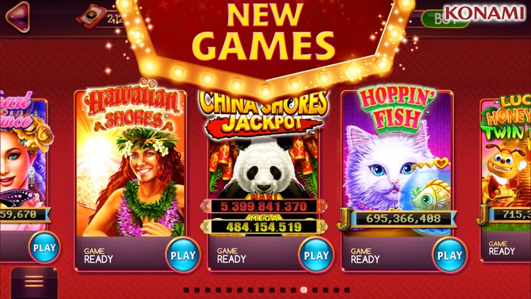 my KONAMI Slots – Casino Slots screenshot-4
