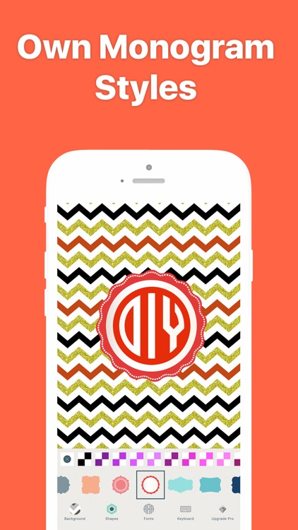 Monogram It - Wallpaper Maker screenshot-1