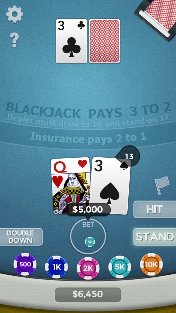 Blackjack 21! Screenshot