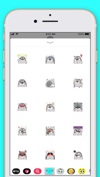 Cute Penguin Kawaii Stickers screenshot-4