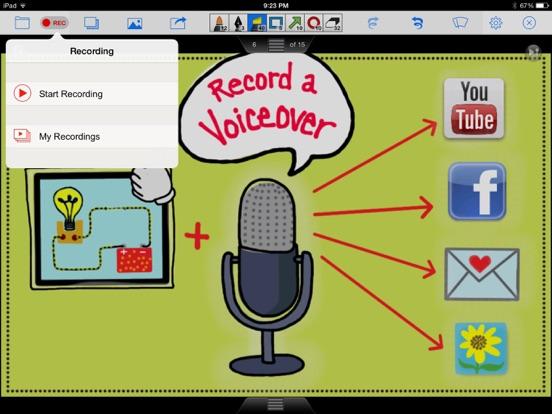 Doceri Interactive Whiteboard screenshot