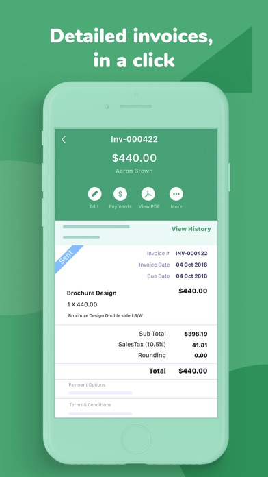 Invoice Time Tracking review screenshots