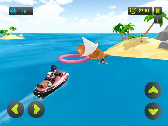 Kids Jetski Power Boat screenshot 8