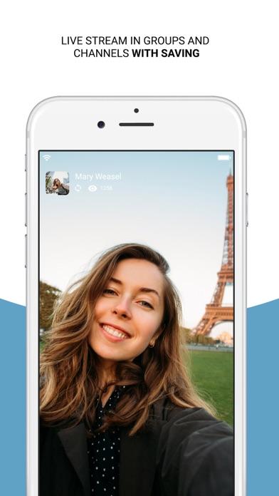 Hola Messenger Screenshot on iOS