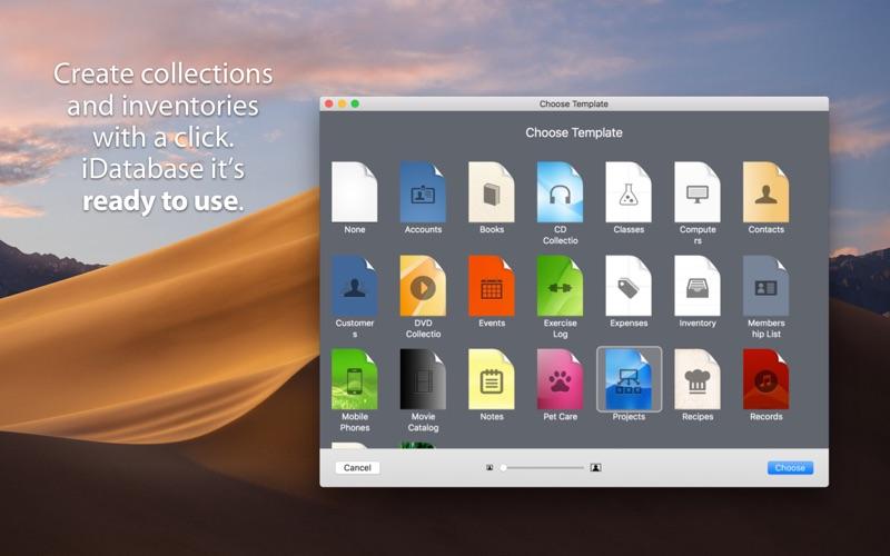 iDatabase Screenshots