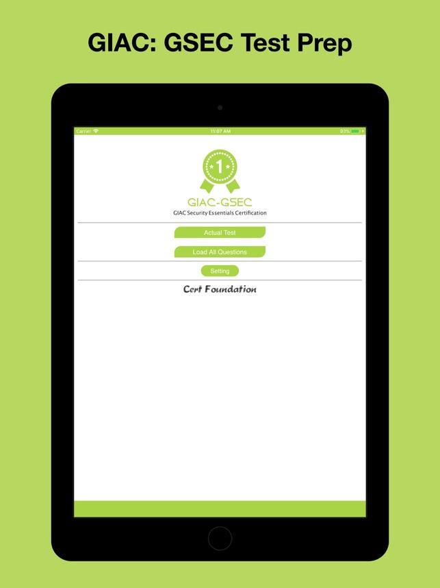 Giac Gsec Test Prep On The App Store