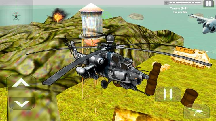 Helicopter Gunship Air Strike screenshot-5
