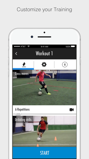 Fitivity Soccer Training on the App Store