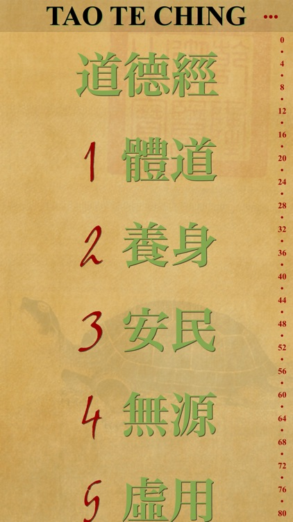 Tao te Ching Lite