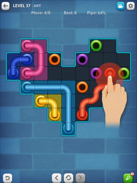 Line Puzzle: Pipe Art screenshot 9