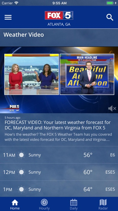 FOX 5 Weather for Windows