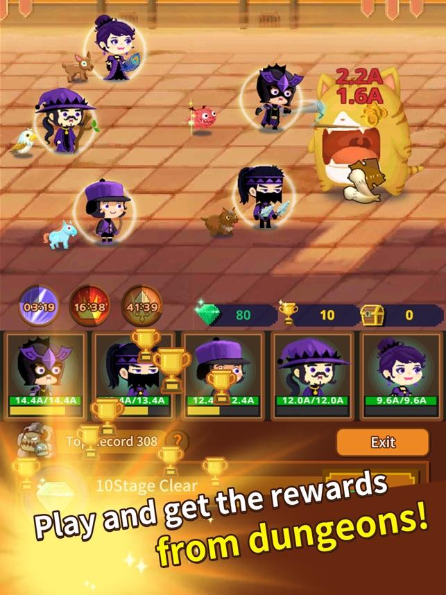 Job Hunt Heroes Idle RPG