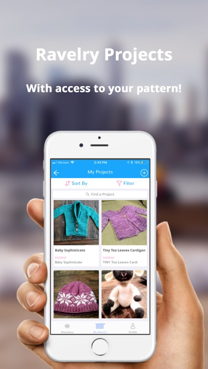 Wooly - The Ravelry Mobile App
