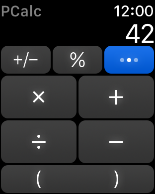 Screenshot #12 for PCalc - The Best Calculator