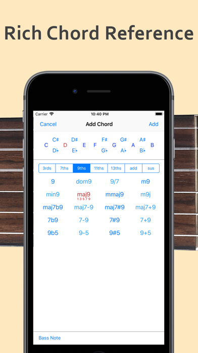 ChordAid: Chord Reference screenshot three