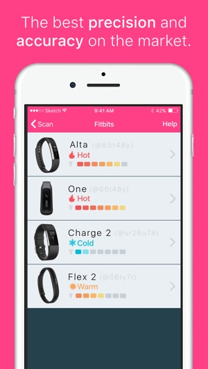 Finder for Fitbit - Find Now! Screenshot