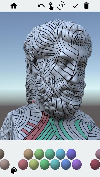 3D Adult Coloring Book Pro screenshot-7