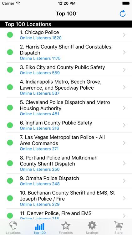 Police Radio - Mobile Scanner screenshot-4