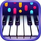música de piano y canciones icon