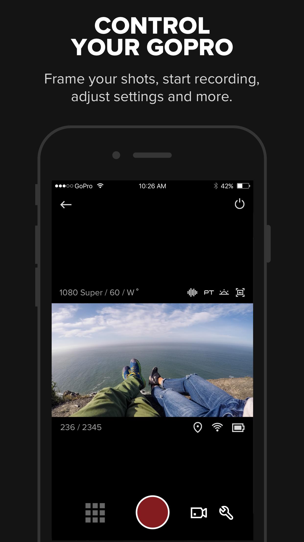 GoPro (formerly Capture) Screenshot